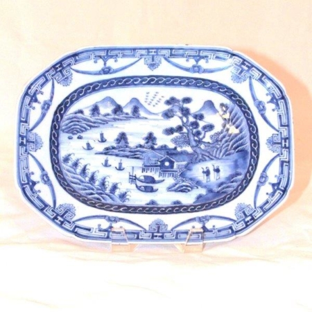 Chinese Export Blue and White