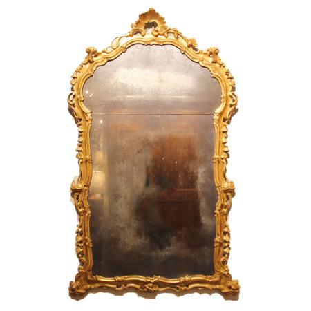 Reproduction Italian Giltwood Mirror
