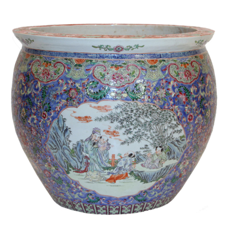 19th Century Chinese Export Fishbowl